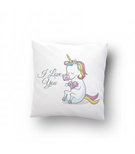 Poszewka love unicorn